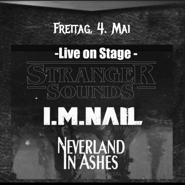 Live on Stage 04.05.2018